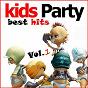 Compilation Kids party - best hits vol.1 avec Krafft / Jakarta / Charly Kingz / Marc Canova / Paperboy...