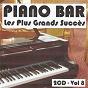 Album Piano bar : les plus grands succès, vol. 8 de Jean Paques
