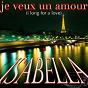 Album Je veux un amour de Isabella