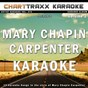Album Artist karaoke, vol. 274 : sing the songs of mary chapin carpenter, vol. 2 (karaoke in the style of mary chapin carpenter) de Charttraxx Karaoke