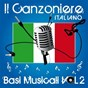 Compilation Il canzoniere italiano, vol. 2 (basi musicali) avec Eros Ramazzotti / Lucio Battisti / Renato Carosone / Julio Iglesias / Riccardo Fogli...