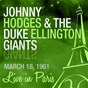 Album Live in paris de Johnny Hodges / The Duke Ellington Giants