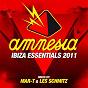 Compilation Amnesia ibiza essentials 2011 avec Inxec / Supernova, Kevin Saunderson / DJ Wady / Angel Anx / DJ Madskillz, Antoine Pieete...