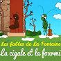 Album Les fables de la fontaine - la cigale et la fourmi de Sidney Oliver