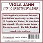 Album Die 10 gebote der liebe de Viola Jahn