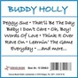 Album Peggy sue de Buddy Holly