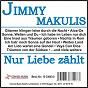 Album Nur liebe zählt de Jimmy Makulis