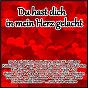 Compilation Du hast dich in mein herz gelacht avec Porter, Glando / Hammer, Nötzel / Dirk Rubin / Pössnicker, Lasch / Raffaella Santos...