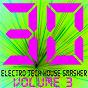 Compilation 30 electro tech house smasher, vol. 3 avec Talhain / Sven Kuhlmann, Olav Bel Goe / Minimal Vanessa / Sven & Olav / Sven Kuhlmann...