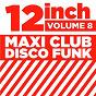 "Compilation 12"" maxi club disco funk, vol. 8 avec Shotgun / B Gibb, R Gibb / M. Gibb / Melba Moore / L Huff..."