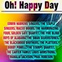 Compilation Oh! happy day avec The Golden Gate Quartet / The Edwin Hawkins Singers / The Staple Singers / Maceo Woods / Harmonizing Four...