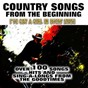 Compilation Country songs from the beginning (I've got a girl in every state) avec Grandpa Jones / Prairie Ramblers / Lavern Baker / Nat King Cole / Milton Brown...