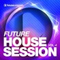 Compilation Future housesession, vol. 4 avec Mozes, Adag!o / Guru Project, Mad Mick, Steve Noble / Tune Brothers / Mark Bale / Zeuny, Dazers...