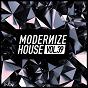 Compilation Modernize house, vol. 39 avec Nick V / Glen Horsborough / Mauricio la Bass / Erika Amoore / Maliblue, Paunovich, Sinnerman...