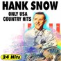 Album Only USA country hits (24 hits) de Hank Snow