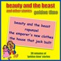 Album Beauty and the beast and other stories - golden time de Kidzone
