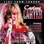 Album Live from london de Carlene Carter