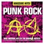 Compilation Massive hits!: punk rock avec The Ramones / Dave Greenfield / Hugh Cornwell / Jean-Jacques Burnel / Jet Black...