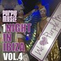 Compilation 1 night in ibiza, vol. 4 avec Walterino / Sugarstarr, Milkwish, André Espeut / Jamie Lewis, Michelle Weeks / Saccao, Antonio Santana / Karl8, Andrea Monta, the Messengers, Lisa Millett...